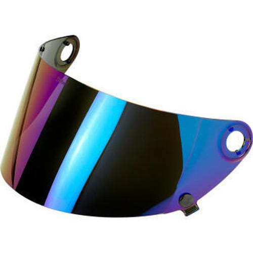 Biltwell - Gringo S Gen 2 Helmet Shield - Rainbow Mirror