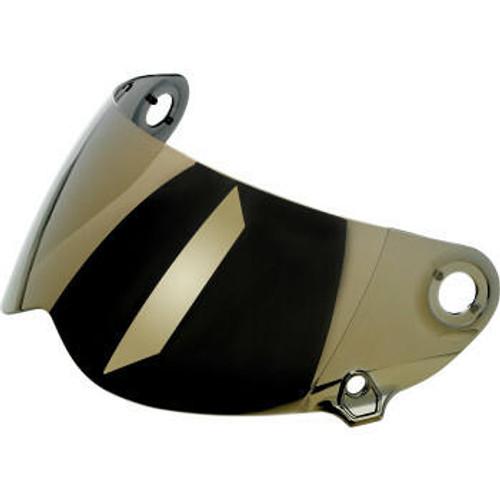 Lane Splitter Helmet Shield Gen 2 - Anti Fog - Gold Mirror