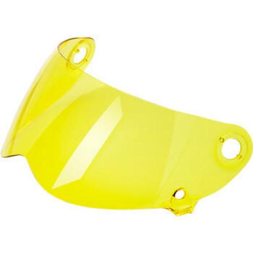 Lane Splitter Helmet Shield Gen 2 - Anti Fog - Yellow