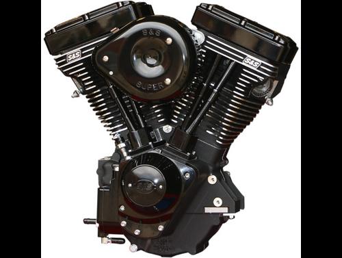 SandS V111 Complete Assembled Engine - Gloss Black