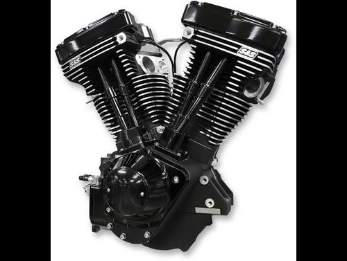 SandS V11 Complete Assembled Long Block Engine - Gloss Black