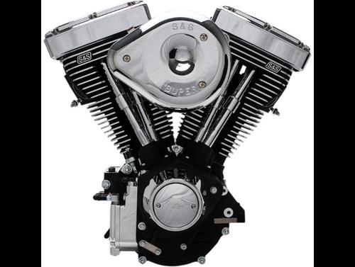 SandS V96R Complete Assembled Carbureted Engine - Black