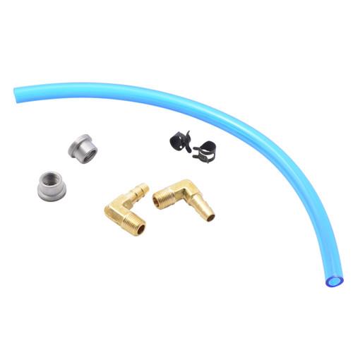 Throttle Addiction Gas Tank Sight Gauge Kit - Blue