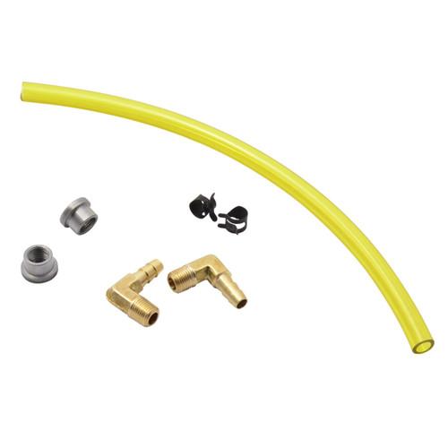 Throttle Addiction Gas Tank Sight Gauge Kit - Yellow