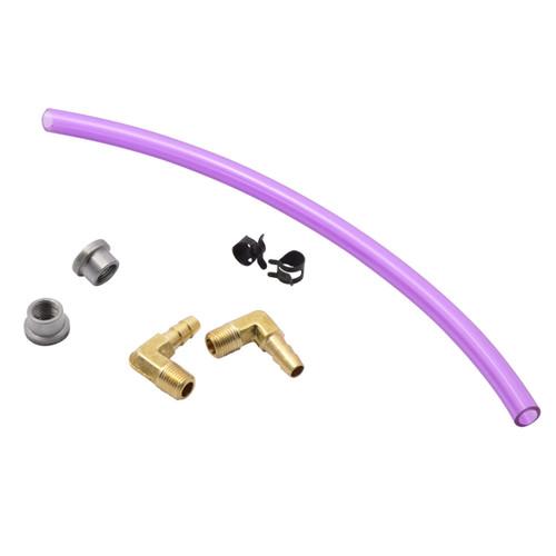 Throttle Addiction Gas Tank Sight Gauge Kit - Purple