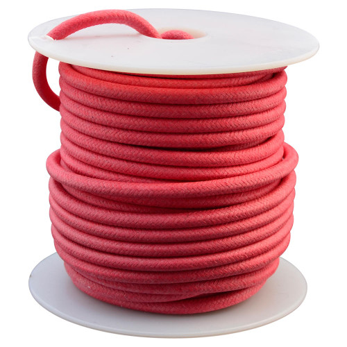 Throttle Addiction 12 AWG Vintage Cloth Covered Wire - Red - 10 FT