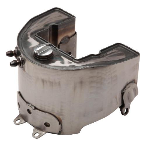 Universal Cycle Harley Knucklehead / Panhead Horseshoe Oil Tank - 1936-1957 - Raw