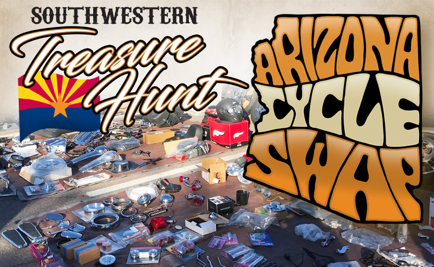 Arizona Cycle Swap:  a motorcycle swap meet you can't miss!