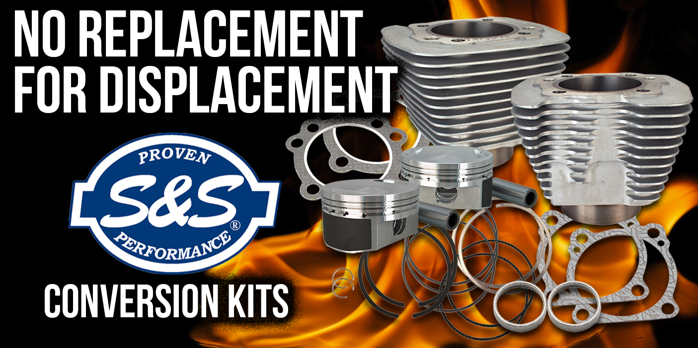 883 to 1200 and 1200-1250 Conversion Kits for Your Sportster