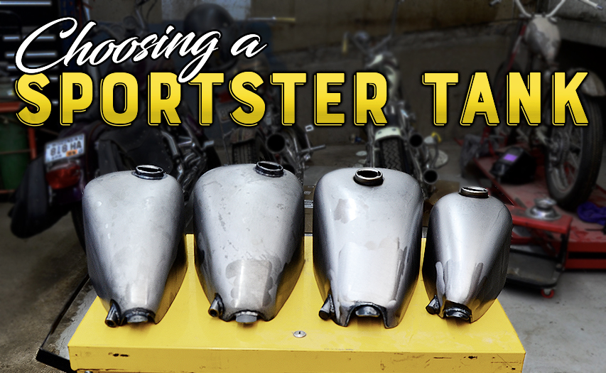Choosing A Sportster Gas Tank For Your Motorcycle