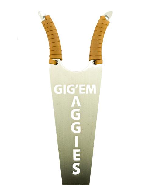 GIG'EM AGGIES boot jack