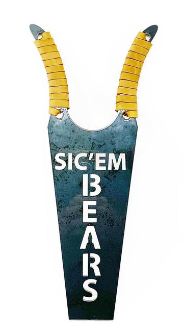 SIC'EM BEARS boot jack