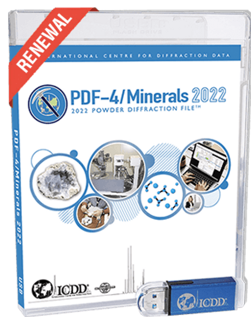 PDF-4/Minerals 2022 - Renewal from 2021 to 2022 - Academic Price