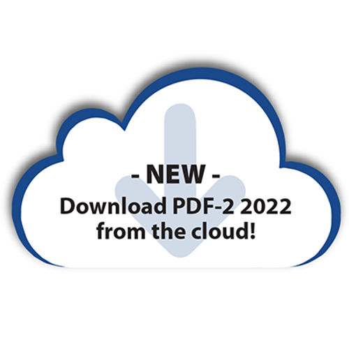 PDF-2 Renewal from 2021 to 2022 - List Price  (Cloud Download)