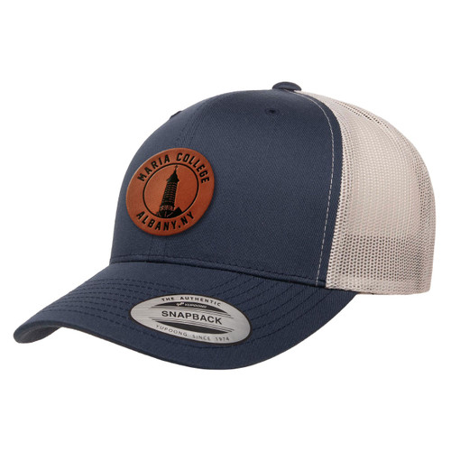 Elevated Trucker Hat Navy/Silver