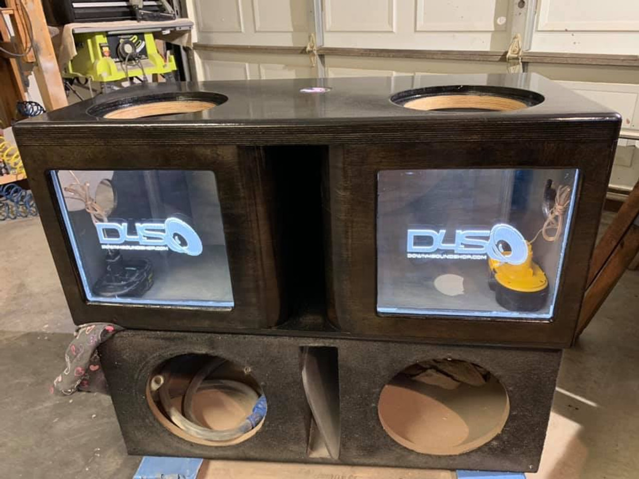 Dual 6 5 Or 8 Dual Custom Sub Boxes With Kerf Down4soundshop Com