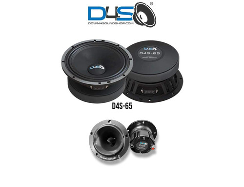Down4Sound D4S-65 / D25 Level 2 Pro audio Combo (490 Watts Rms)