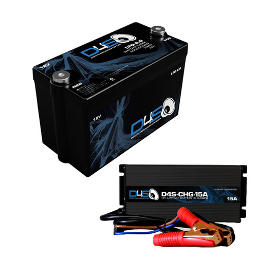 DOWN4SOUND | D4S LTO 6.0 Lithium Battery +  D4S-CHG-15A  Power up Package