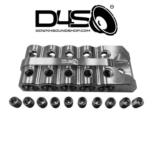 10 SPOT - D4S Battery Distro Block - 1/0 AWG input