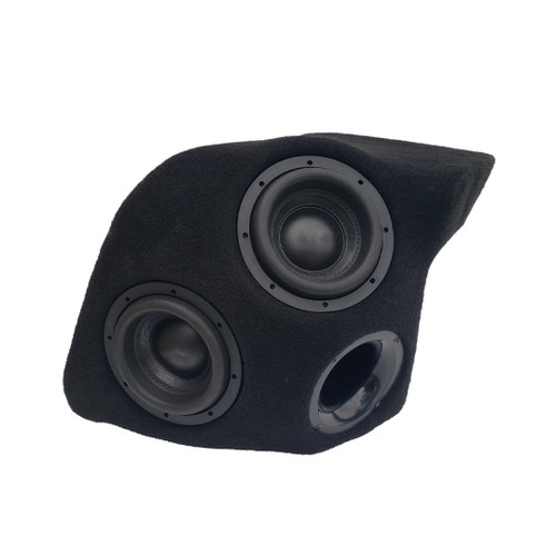 "2018/up Jeep Wrangler Unlimited Dual 8"" Ported Subwoofer Enclosure"