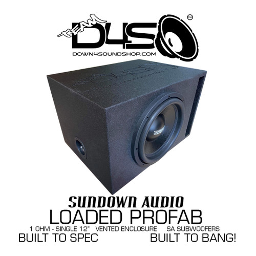 Sundown Audio SA 12 SINGLE LOADED VENTED ENCLOSURE