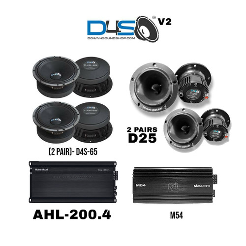 DOWN4SOUND LEVEL 9000 PRO AUDIO COMBO | 1100W RMS v2