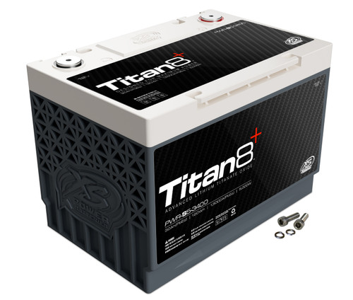 XS Power TITAN8 PWR-S5-3400 Lithium Battery (Burst Discharge)