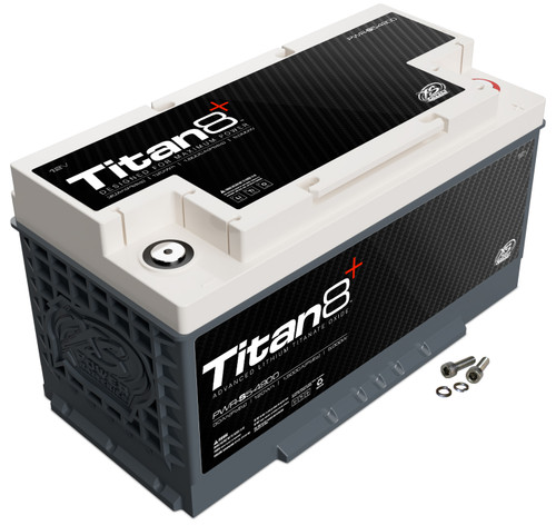 XS Power TITAN8 PWR-S5-4900 Lithium Battery (Burst Discharge)