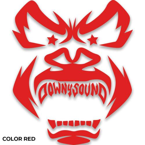 Down4Sound 9 INCH 2021 DOWN4SOUND GORILLA V2