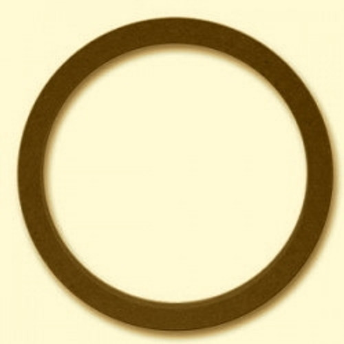 """6 1/2 """" MDF RINGS 3/4"""" THICK SOLD AS A PAIR"""