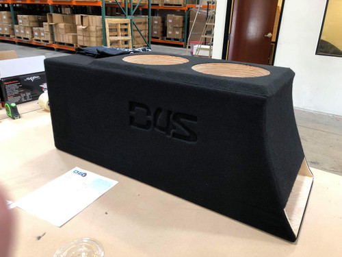 "Dual 10"" Custom Kerf Ported Subwoofer Box  (HAND MADE IN THE USA)"