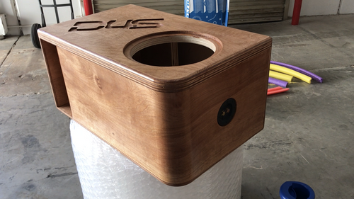 """Single 12"""" Custom Kerf Ported Subwoofer Box (HAND MADE IN THE USA)"""