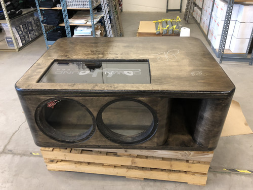 """Dual 12"""" Custom Kerf Ported Subwoofer Box (HAND MADE IN THE USA)"""