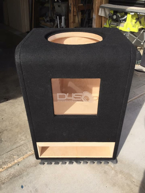 "Single 15"" Custom Kerf Ported Subwoofer Box  (HAND MADE IN THE USA)"