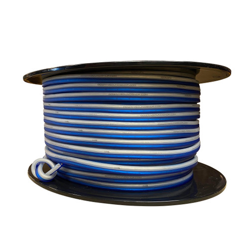 Down4Sound  14G OFC Speaker Wire (Blue&Clear)  By the Foot