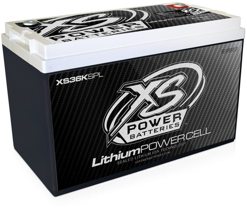 XS36KSPL - 12V Group 31 Lithium Ion, Max Power 36,000W, 44Ah, 600Wh, SPL Use Only