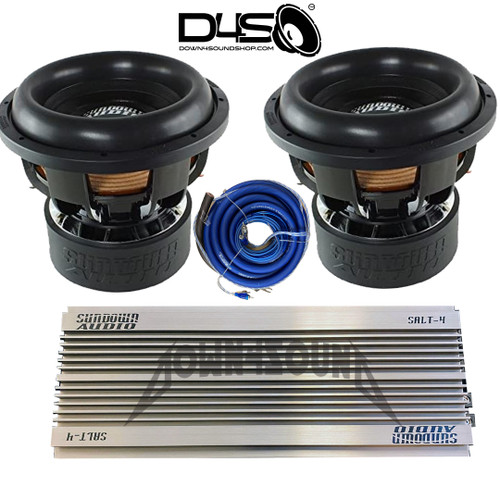 DOWN4SOUND SHOP  BANG'N PACKAGE (4000Wrms) (PLEASE READ DESCRIPTION FOR DETAILS)
