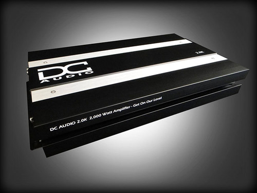 DC AUDIO 2.0K - 2000 W RMS AMPLIFIER