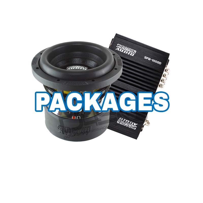 car audio package bass deals