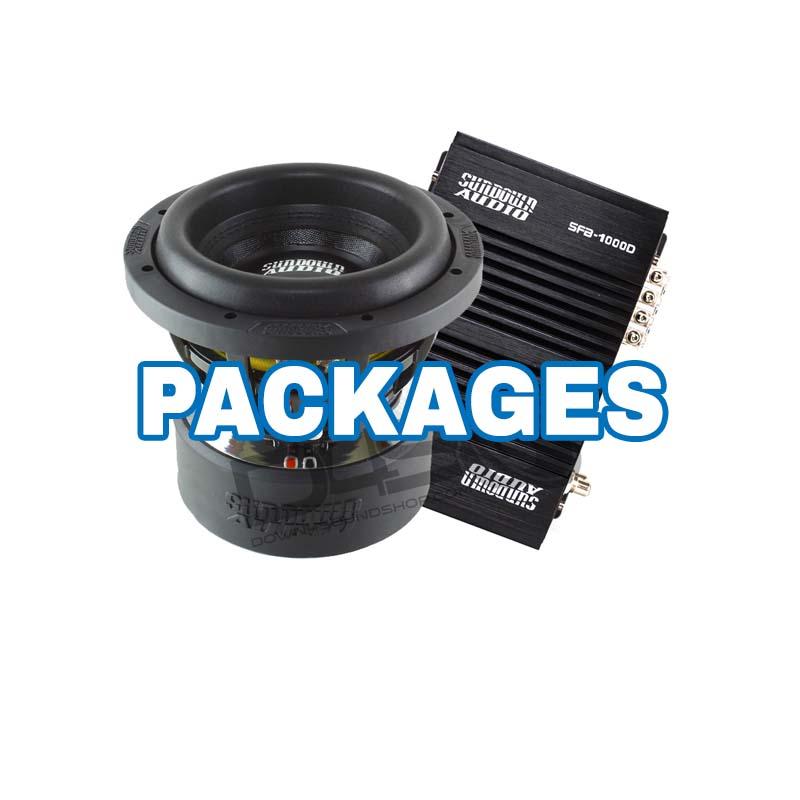 car audio package bass deals