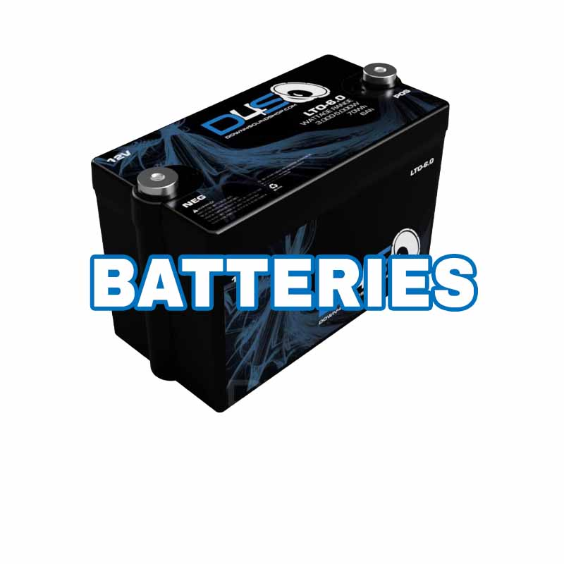 Car Audio Batteries AGM Lithium