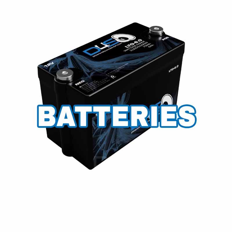 Car Audio Batteries AGM Lithium