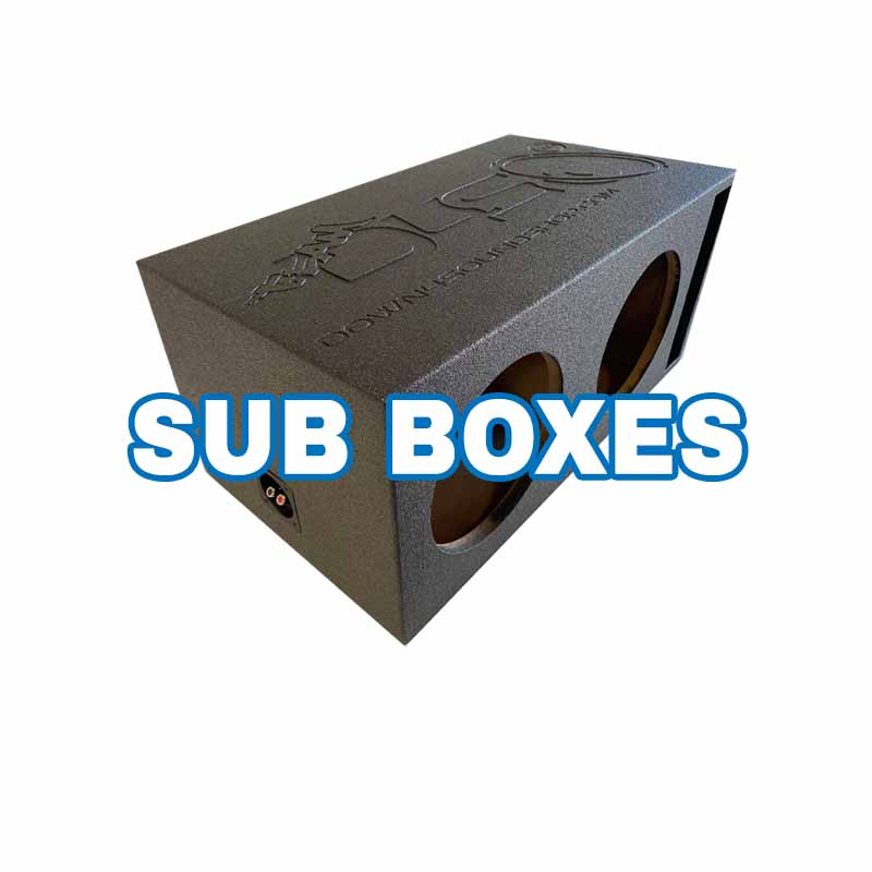 Car Audio Sub boxes and Designs