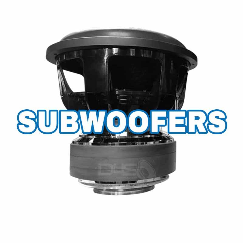 Car Audio Subwoofers