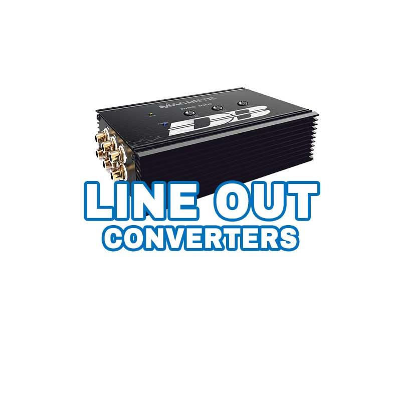 line out converter factory audio integration