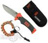Bear Grylls Survival Bracelet and Folding Sheath Knife, Part Serrated