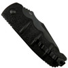 Boker XL Kalashnikov Recurve Tanto Auto Knife, AUS-8 Black Blade