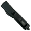 Microtech 231-1T Tactical Contoured UTX-85 S/E OTF Auto Knife, Black Blade REAR VIEW