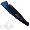 Piranha Blue DNA Auto Knife, CPM-S30V Black Combo Blade