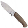 Boker Plus Vox Rold Scout Fixed Blade Knife, Stonewash D2 Blade